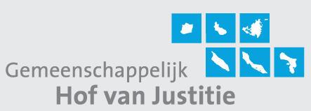 Logo gemeenschappelijk Hof van Justitie