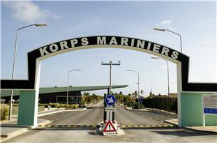 Poort Marinierskazerne Savaneta