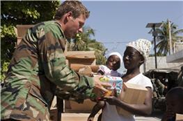 Hulpverlening op Haiti