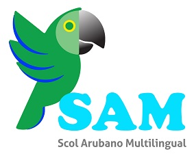 Logo SAM - Multilenguale School
